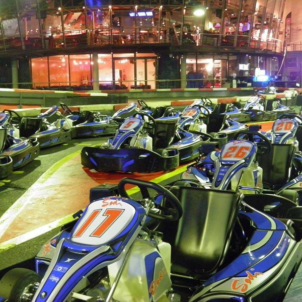 Dos tandas de karting - Barcelona
