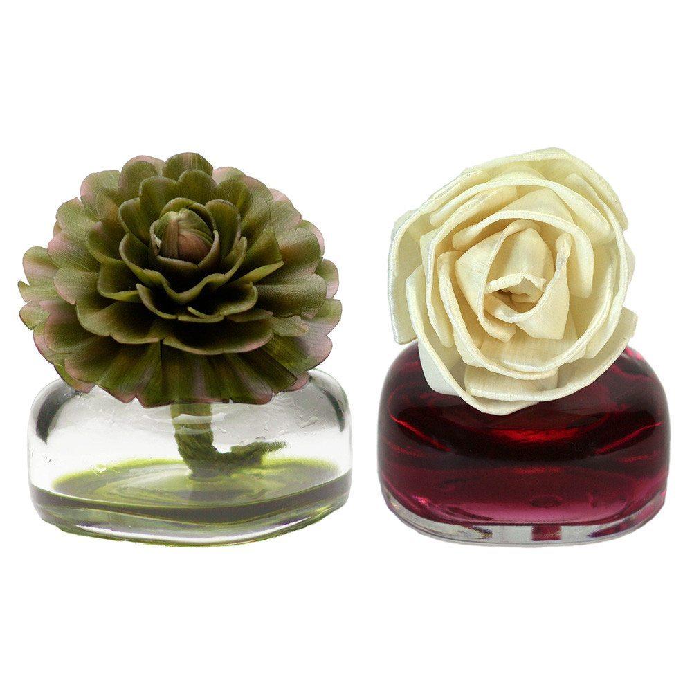 Edler Mini-Raumduft mit Blüte