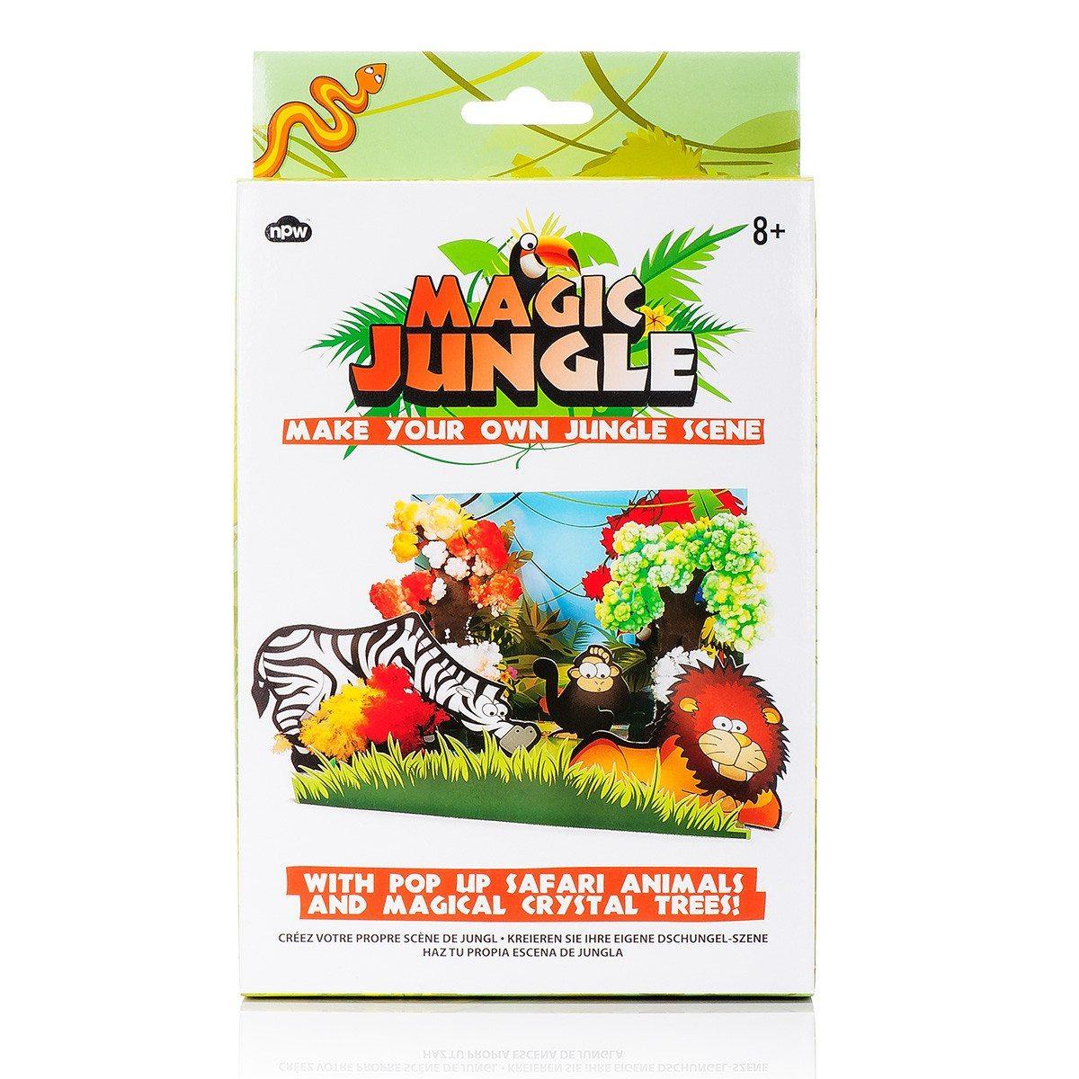 Ein Dschungel für zuhause - Pop-Up-Set