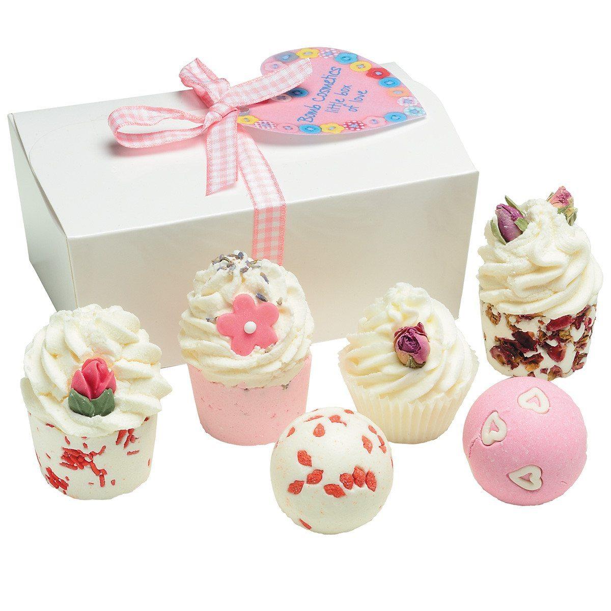 Eine kleine Schachtel voller Liebe - Bade-Geschenkset