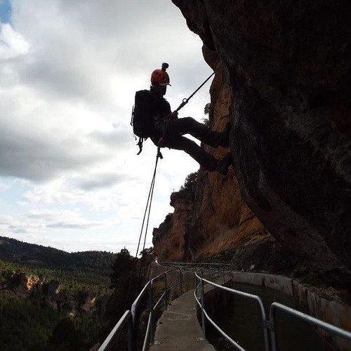 Escalada y rappel - Cuenca