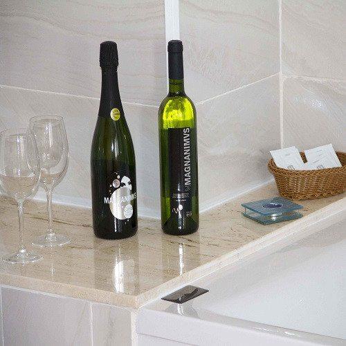 Escapada enológica con jacuzzi y botella de vino - Castellón