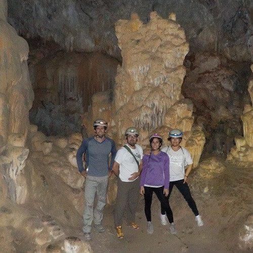Espeleología en cueva con tu familia - Castellón
