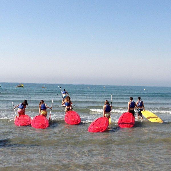 Excursión de paddle surf en Vilanova - Barcelona