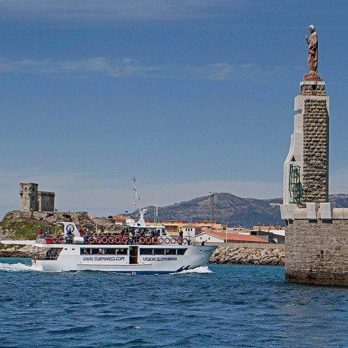 Excursión en barco playa de Barbate - Cádiz
