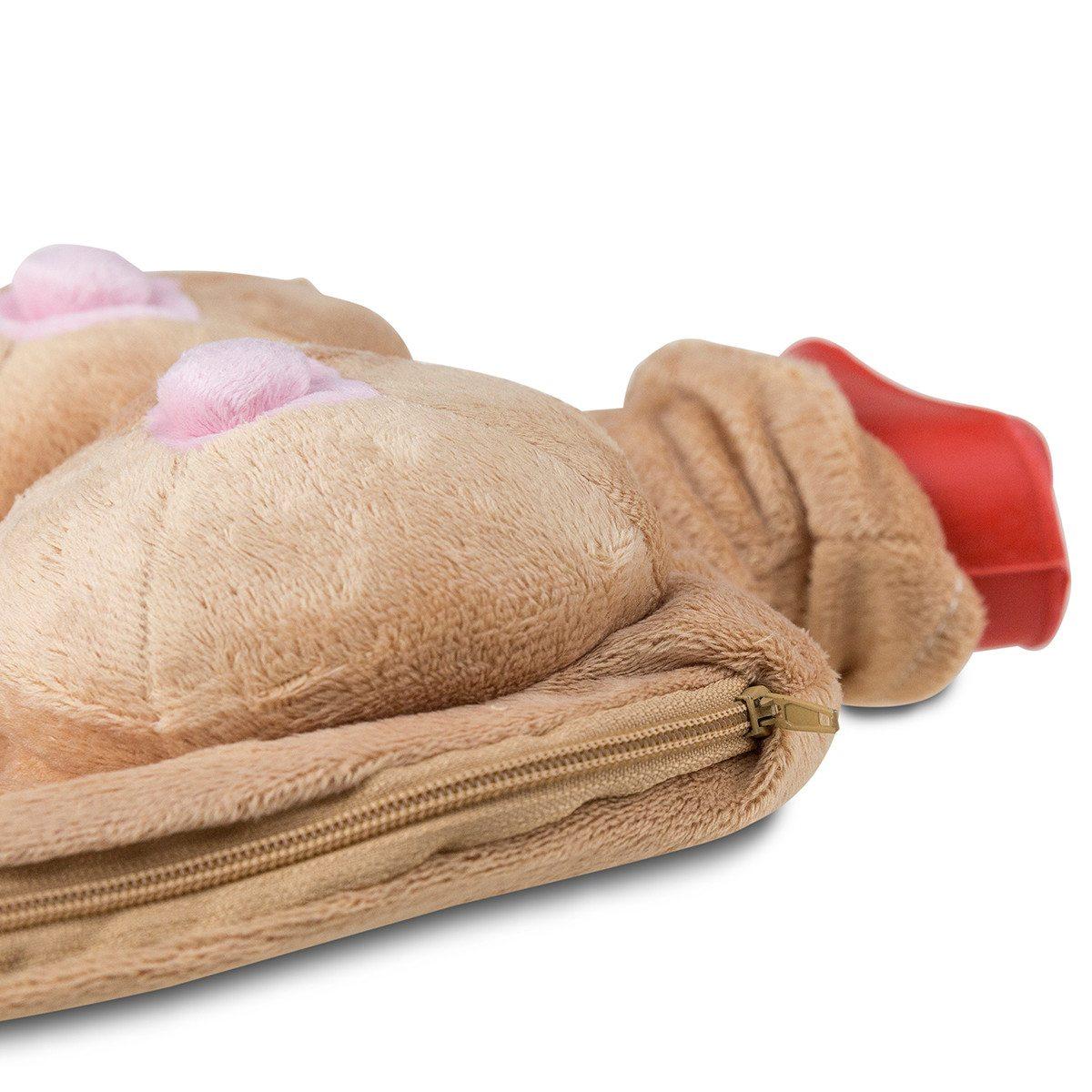 Extra heiß: Die Oben-ohne-Wärmflasche