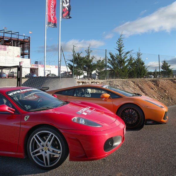 Ferrari F430 F1 y un Lamborghini Gallardo - Huelva