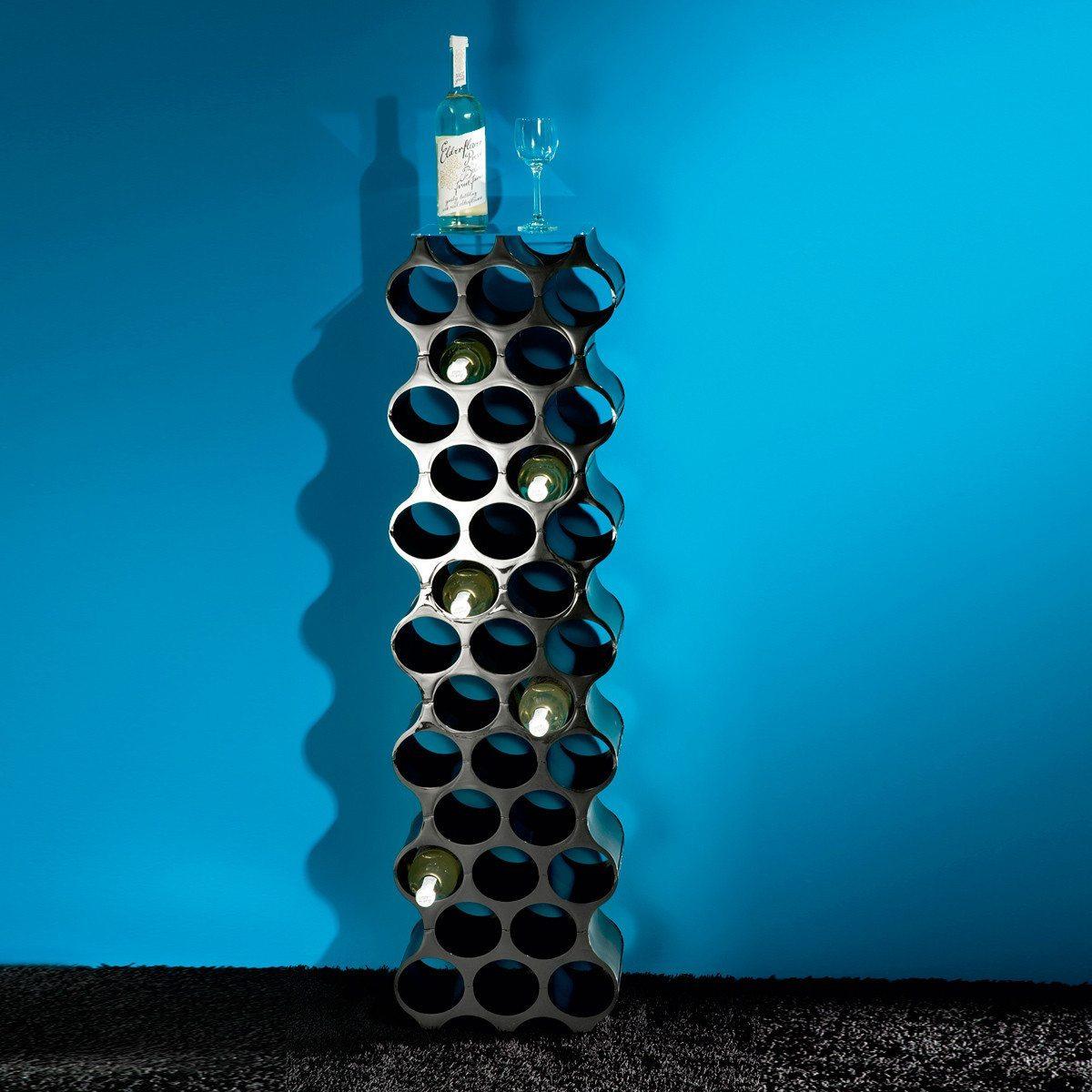 Flaschen- und Weinregal