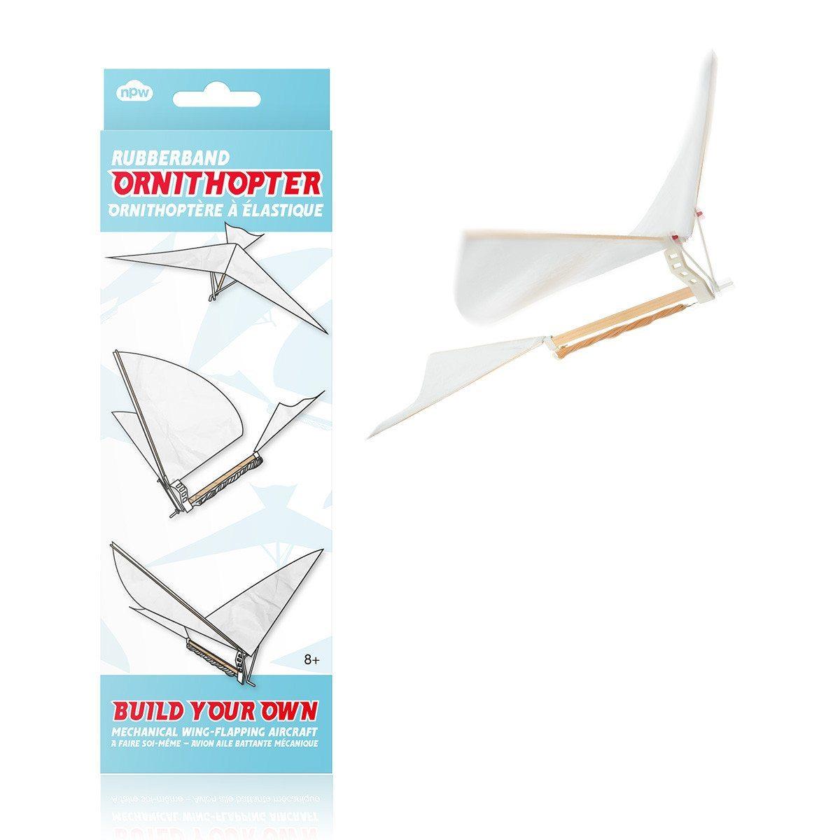 Flugzeug mit Gummimotor bauen