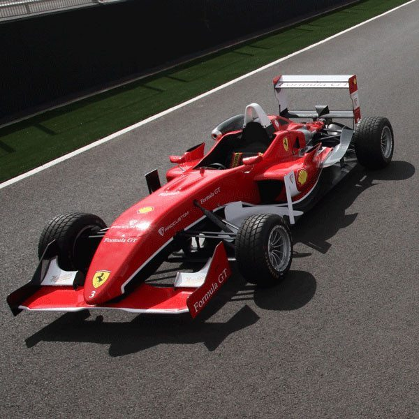 Fórmula 3 réplica Ferrari en Montmeló - Barcelona