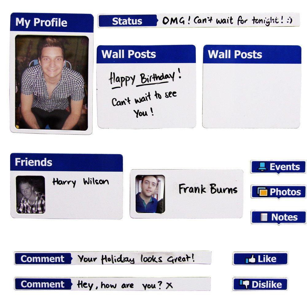 Fridgebook – Facebook-Profil