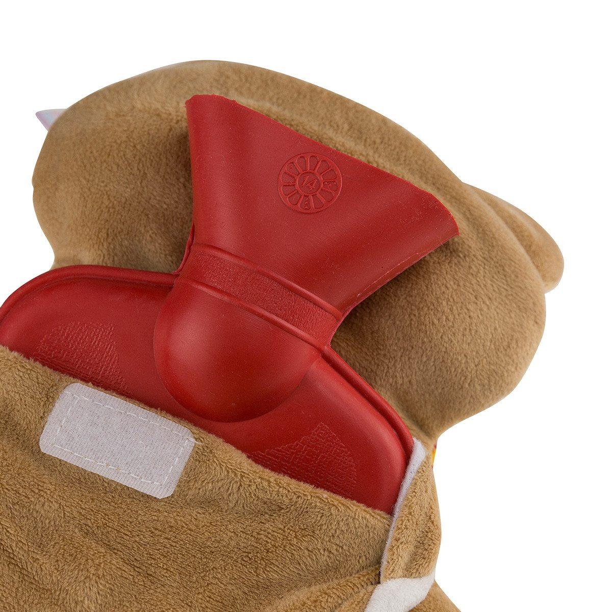 Fuchs Wärmflasche mit Initalien