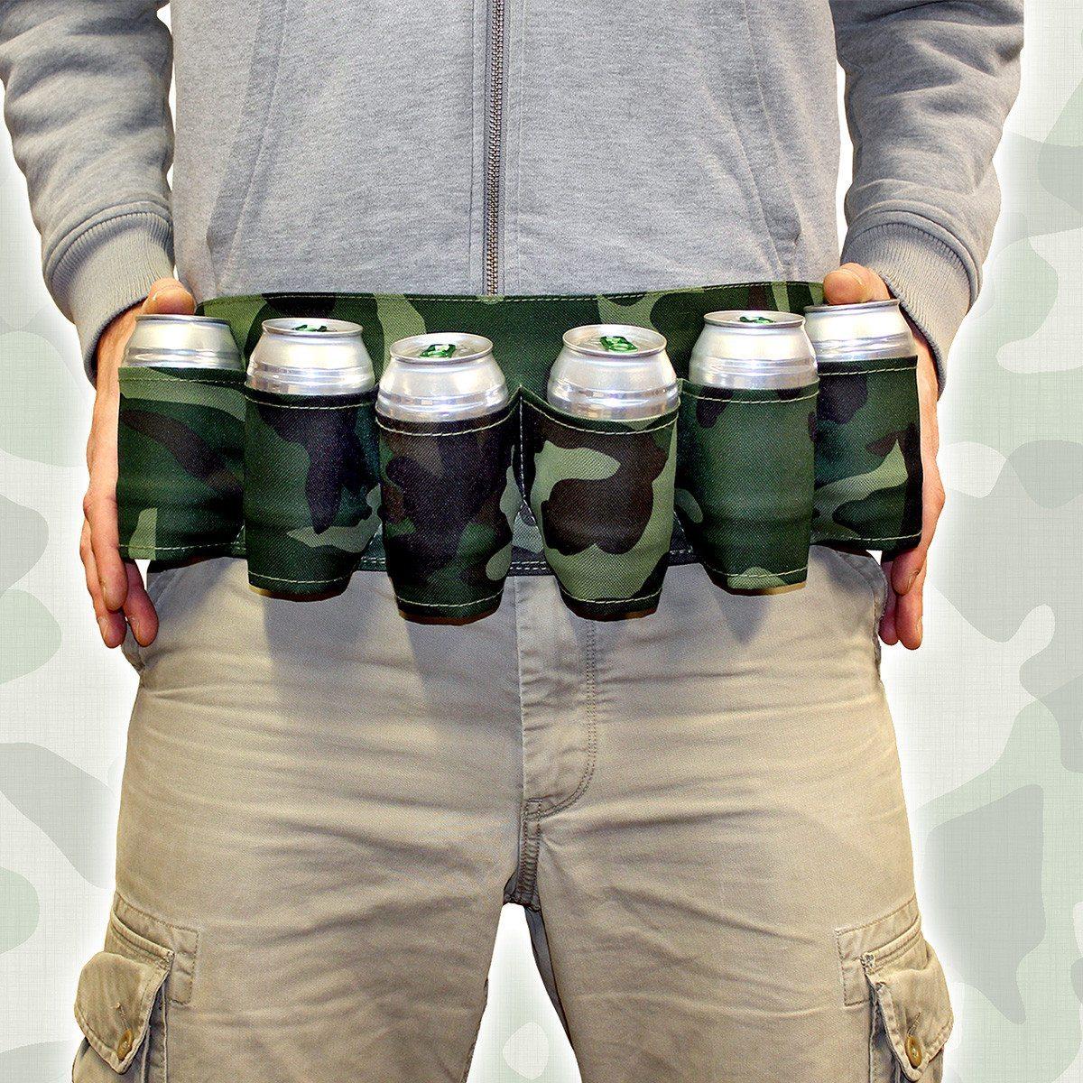 Für Kampftrinker: Der ultimative 6-Pack-Gürtel