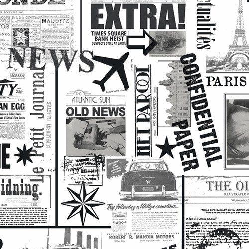 "Geschenkpapier ""News"""