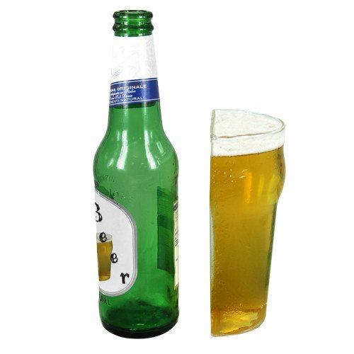 Geteiltes Bier-Glas
