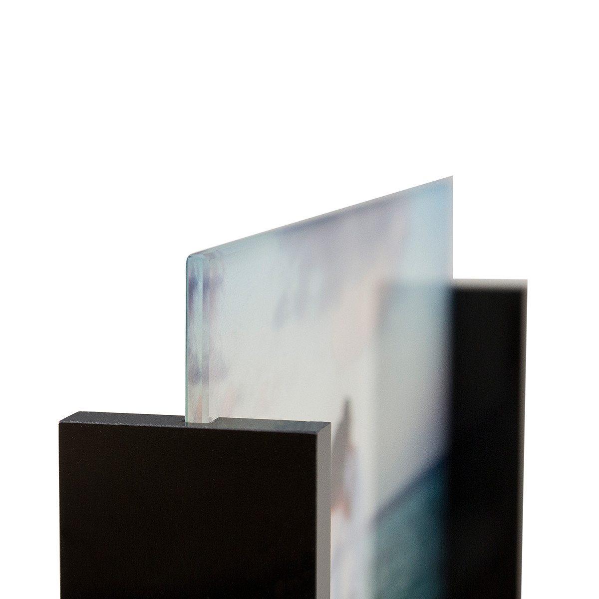 Glasfoto im Acryl-Rahmen