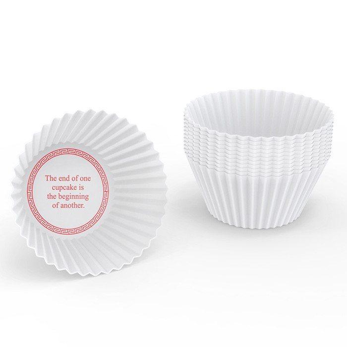 Glückskekse - Muffinförmchen mit Botschaft