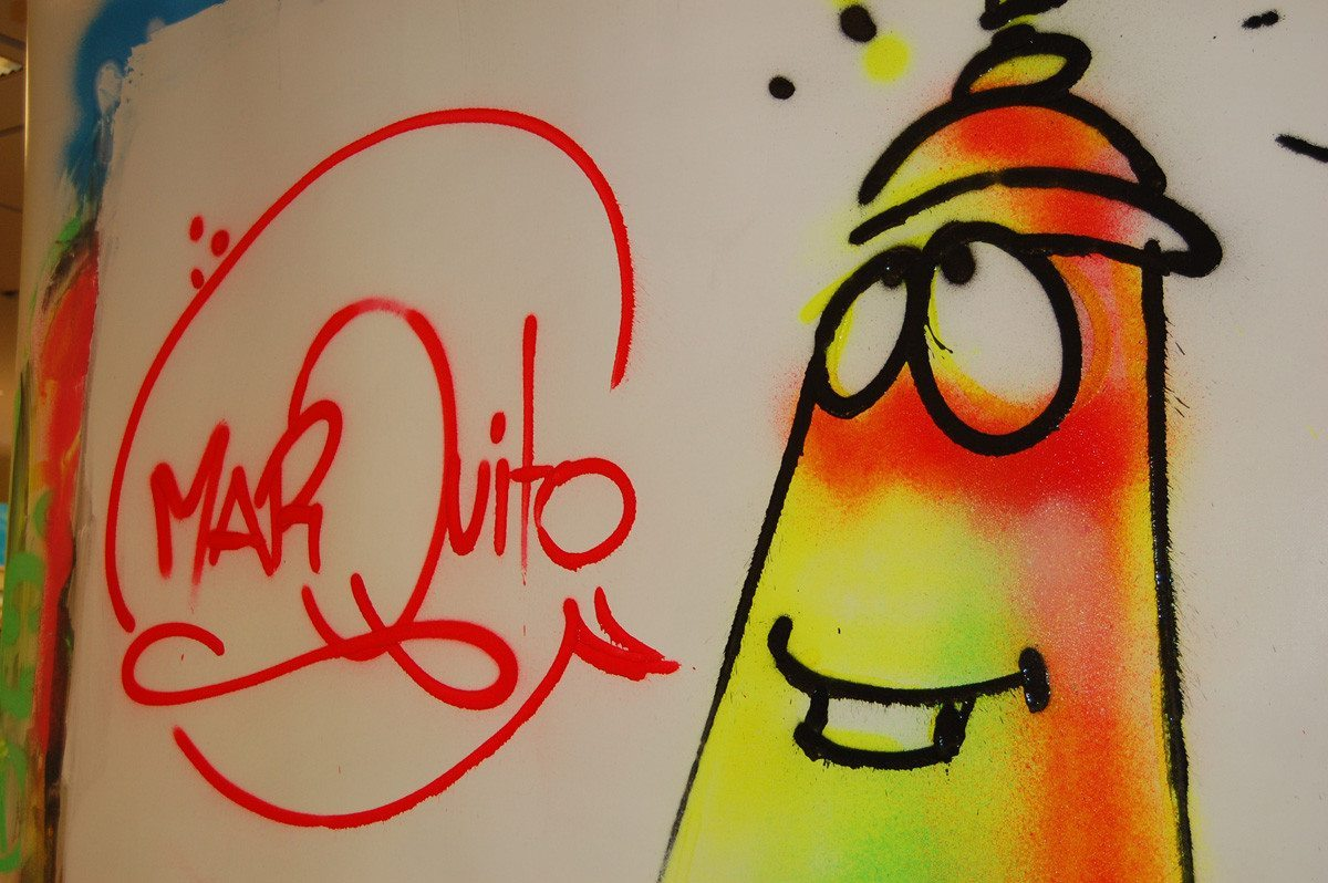 Graffiti für Anfänger - Sprühkreidenset