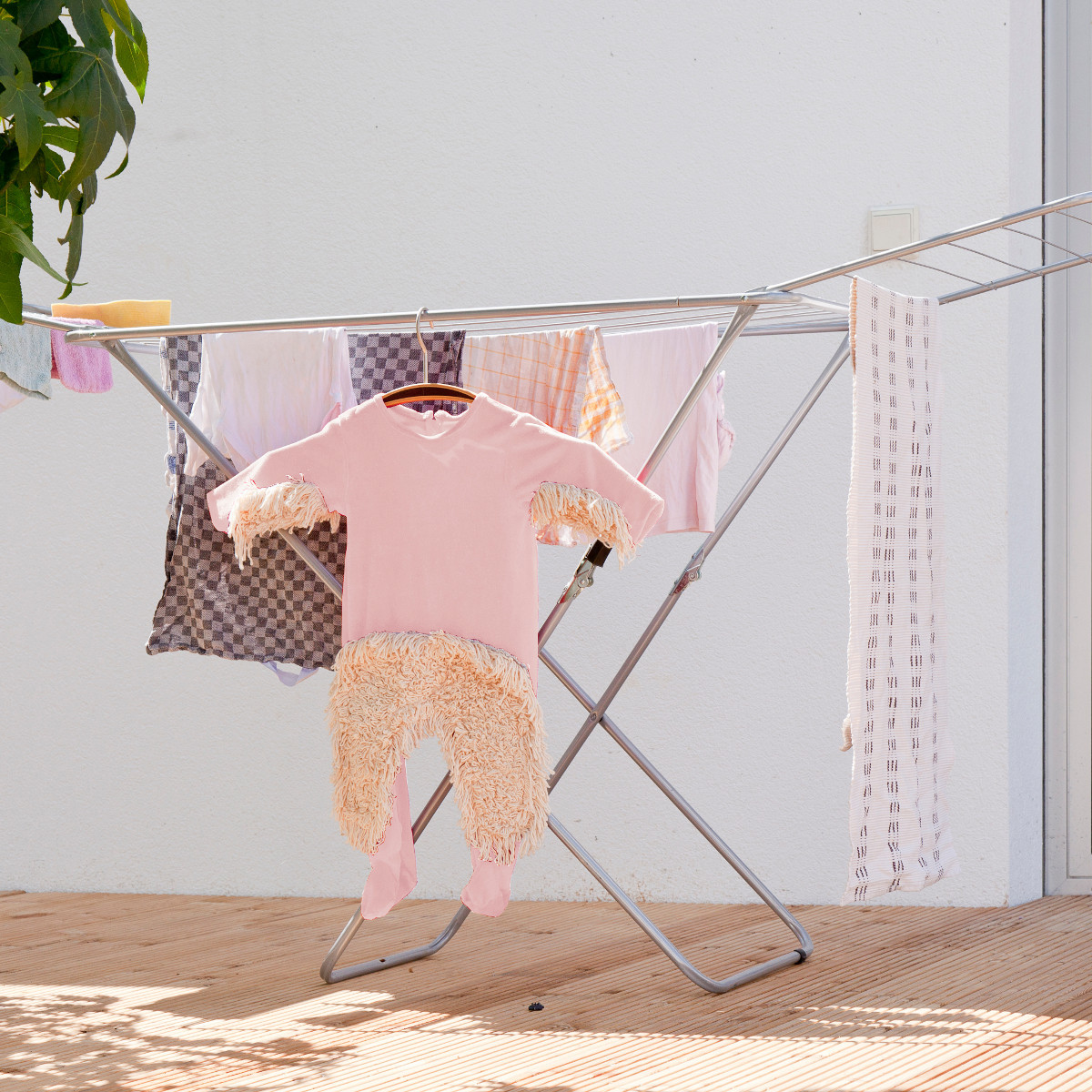 Grappig babymop kruippakje