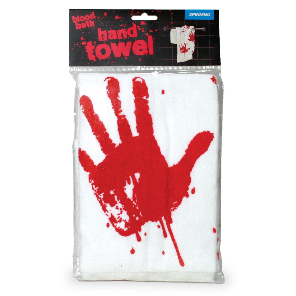 "Handtuch ""Blutbad"""