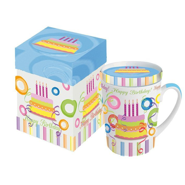Happy Birthday Tasse in Geschenkbox