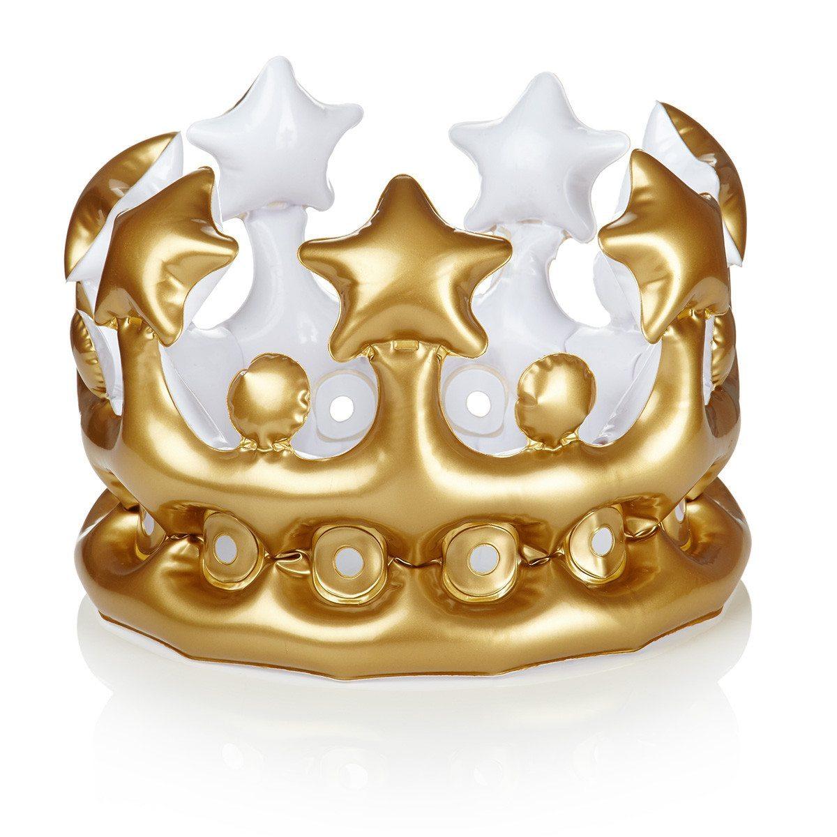 """""""Heute ein/e ... """" - Aufblasbare Krone"""