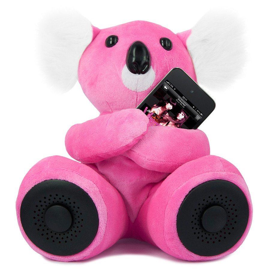 hi-Koali - Der kuschelige Lautsprecher für Ihr Smartphone