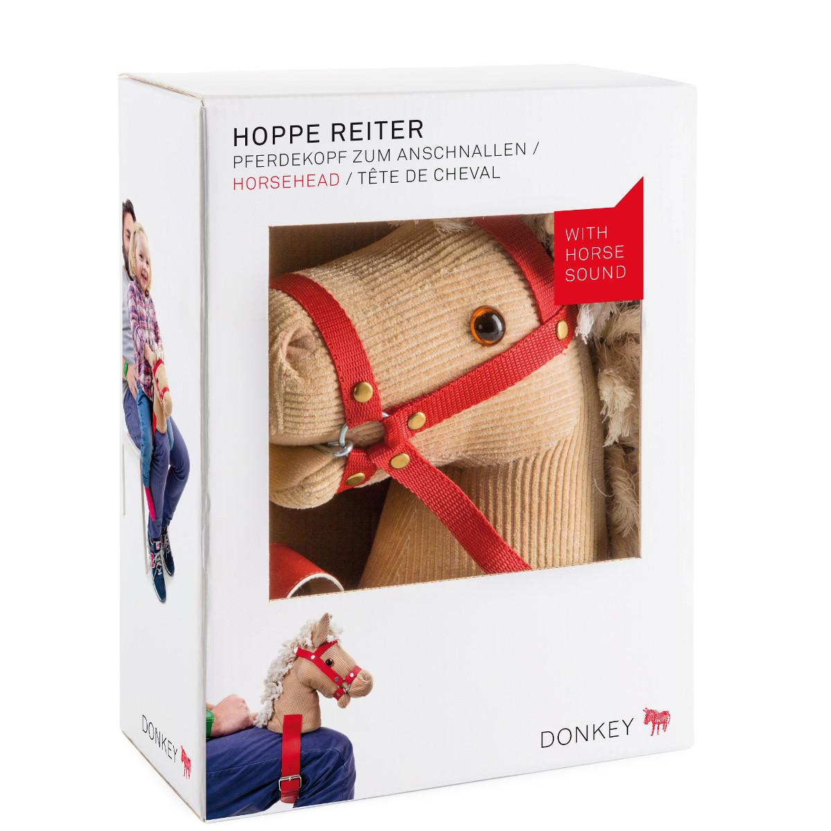 Hoppe Hoppe Reiter 2.0 – Pferdekopf zum Umschnallen