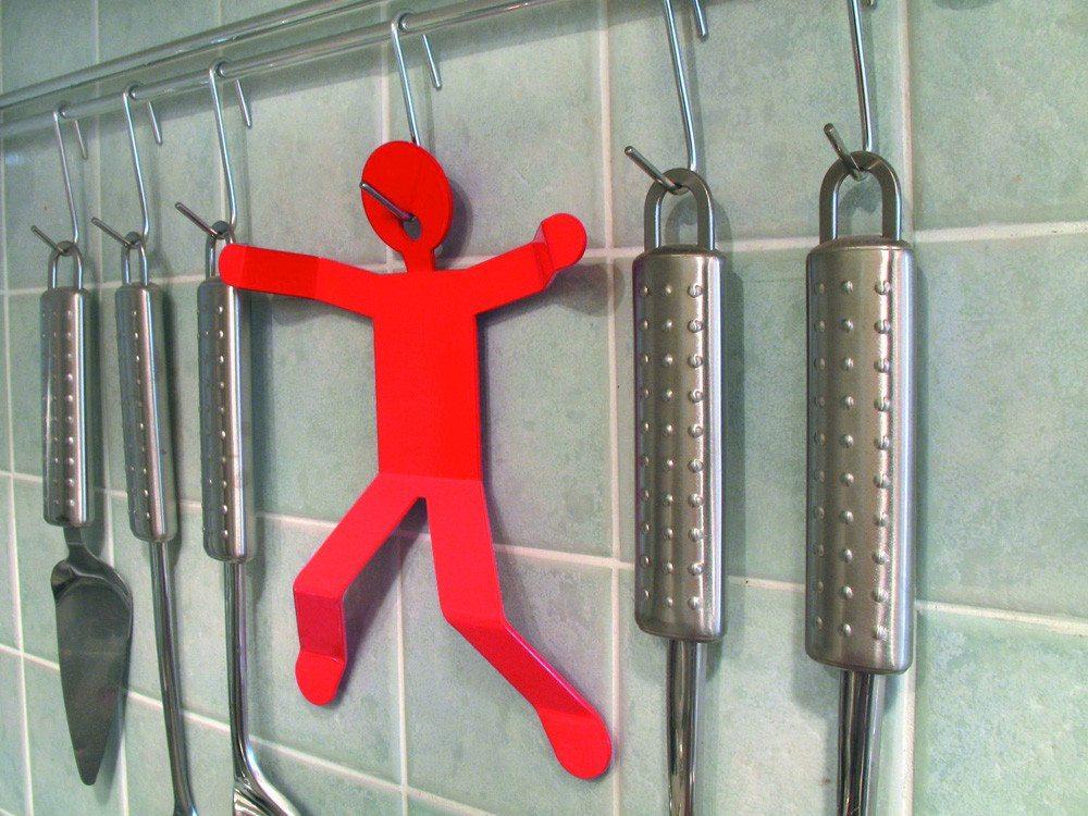 Hotman Topfuntersetzer rot zum Aufhängen