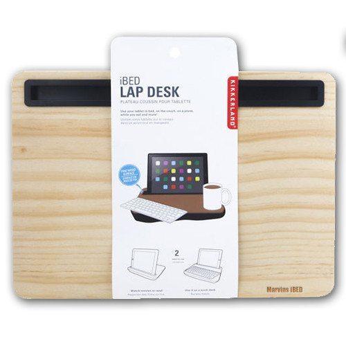 iBed 2.0 - das hölzerne Tablet-Tablett mit Gravur