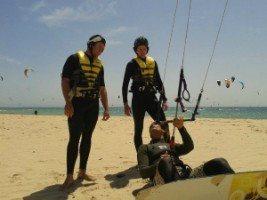 Iniciación al kitesurf - Tarifa