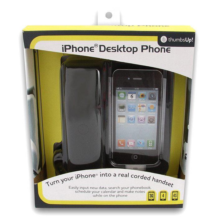 iPhone goes Festnetz: Retro-Telefonstation