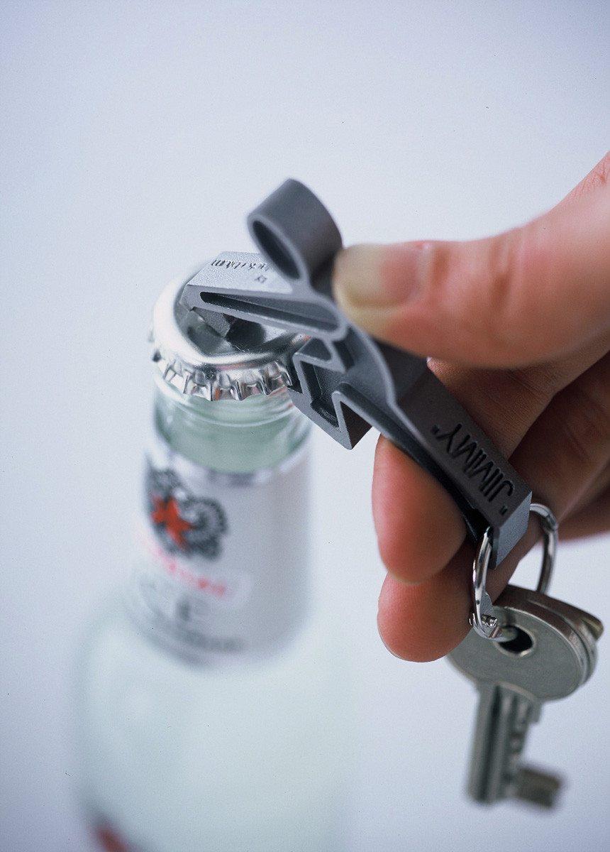 Jimmy - Der magnetische Flaschenöffner und Schlüsselanhänger