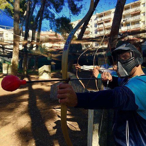 Juego de arcos para 2 - Tarragona