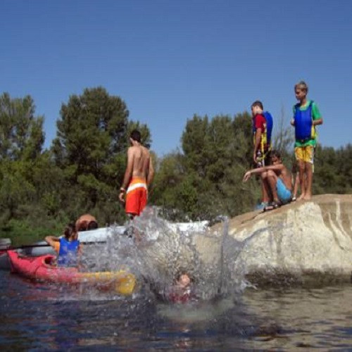 Kayak, Canoa o Piragua por el Pueblo Hundido de Fayón - Tarragona