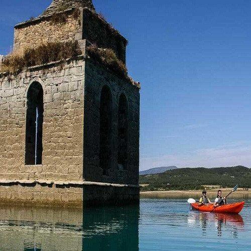 Kayak de travesía en Pirineo - Huesca