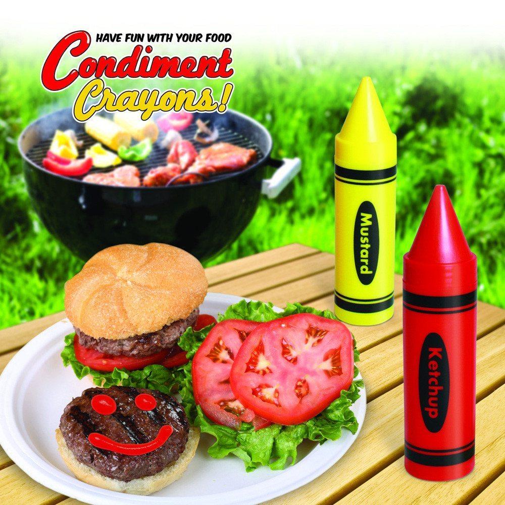 Ketchup- und Senfstifte