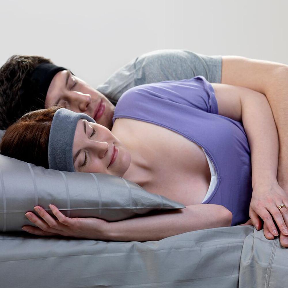 Kopfhörer-Stirnband – Der Pyjama für die Ohren (lavendel)
