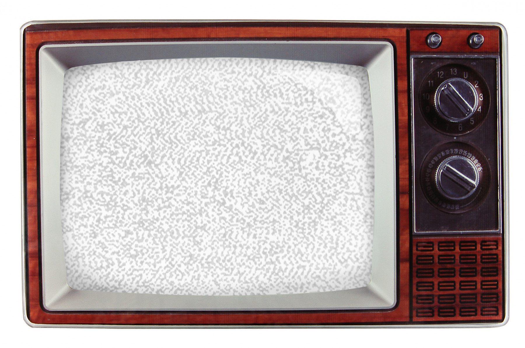 Kultiger Retro-TV-Fotorahmen