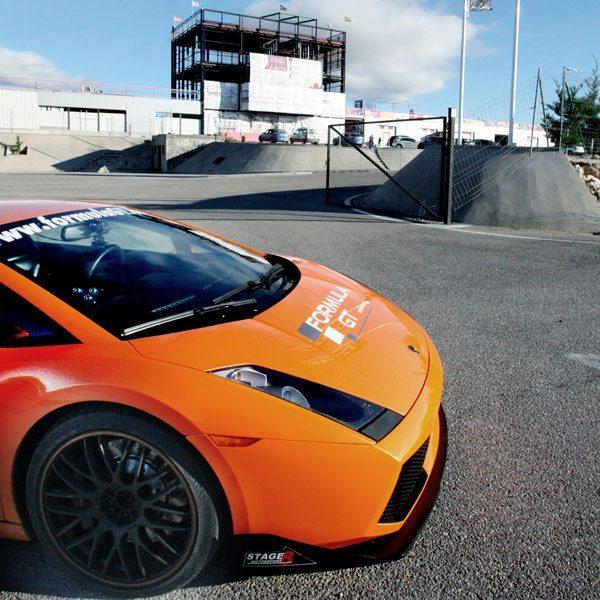 Lamborghini en Can Padró - Barcelona