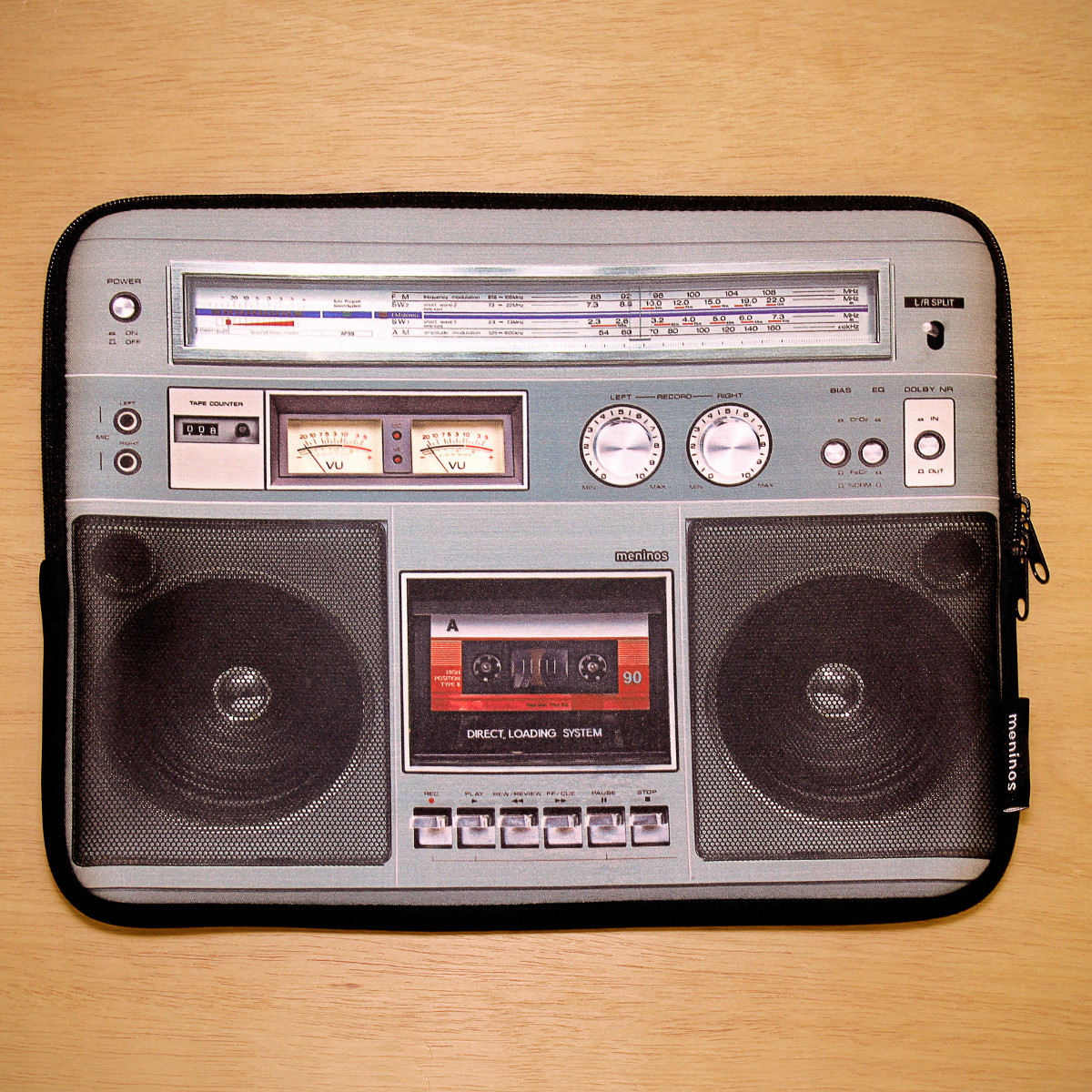 "Laptophülle ""Ghettoblaster"""