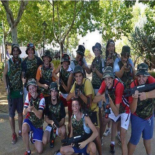 Laser Combat en grupo - Cuenca