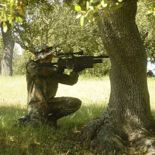 Láser Combat en grupo - Salamanca