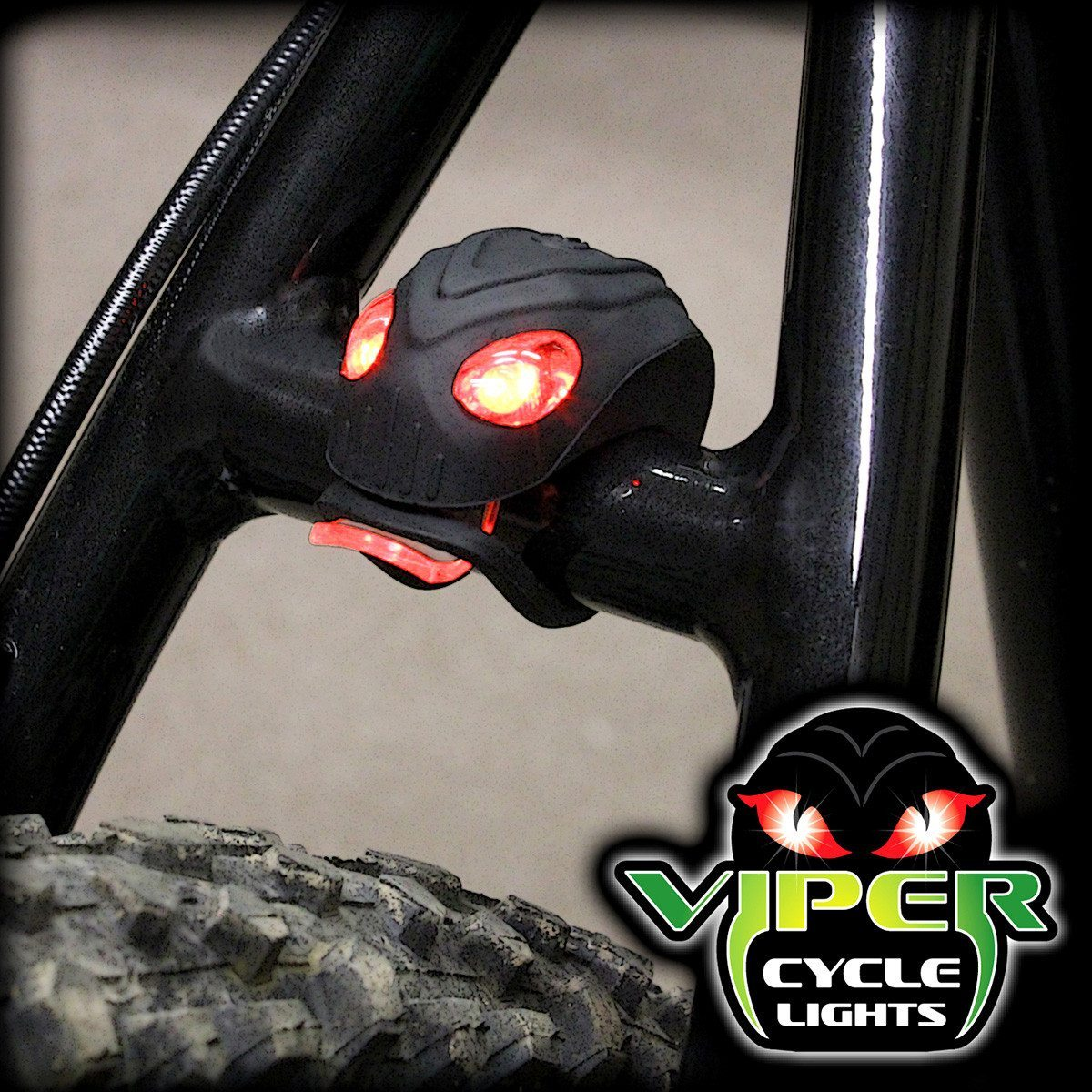 "LED Fahrradlampen ""Viper"""
