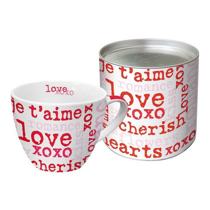 Liebestassen in Geschenkverpackung