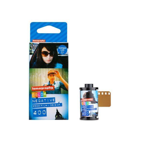 Lomography Farbnegativfilm ISO 400 3er Pack