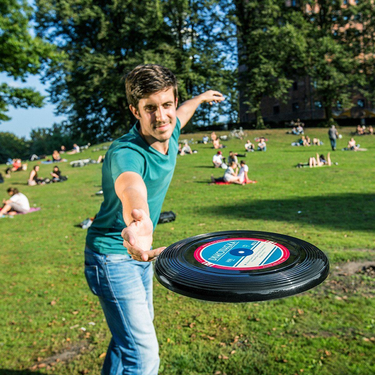 Lustige Frisbee-Scheiben