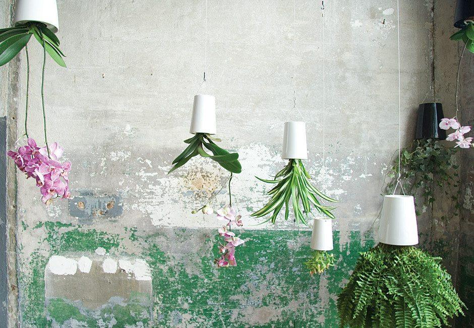 Macetas de cerámica sky planter boskke