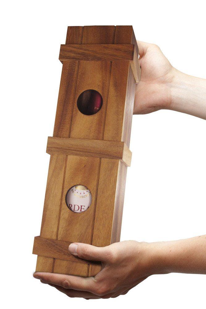 Magische Weingeschenkbox - Gehalten