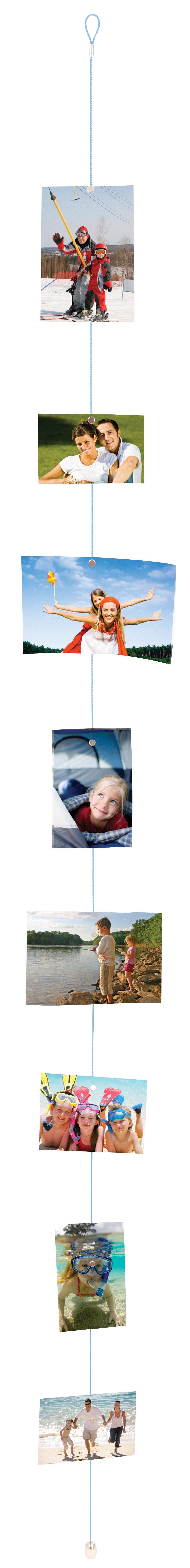 Magnetischer Fotohalter für 8 Bilder